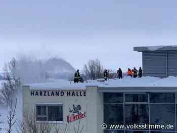 Ilsenburg: Rettungseinsatz auf dem Dach - Volksstimme
