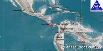 Sismo de magnitud 3.1 sacudió hoy Changuinola – En Segundos Panama - En Segundos