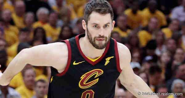 Kevin Love Close To Return From Calf Injury