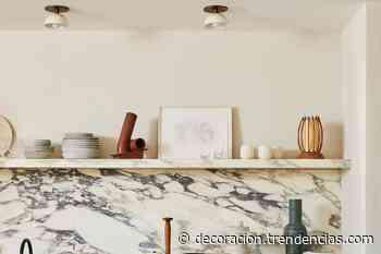 Las cocinas presumen de vetas en sus salpicaderos con los nuevos acabados porcelánicos que imitan mármoles - Decoesfera