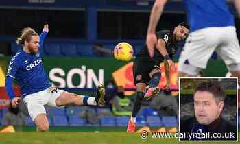 Michael Owen hails stunning strike from Riyad Mahrez in Manchester City's victory at Everton