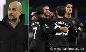 Pep Guardiola refuses to entertain Premier League title talk despite Man City moving 10 points clear