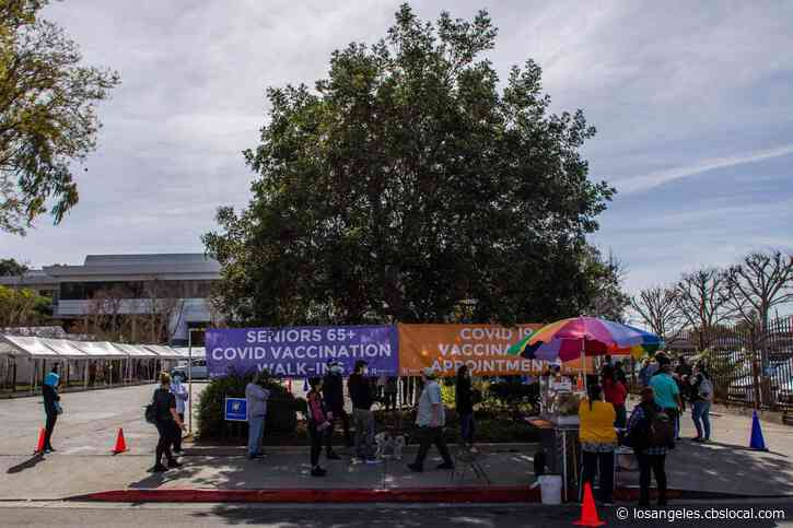 LA County Reports 85% Decrease In Daily COVID-19 Cases, 91% Drop In Deaths