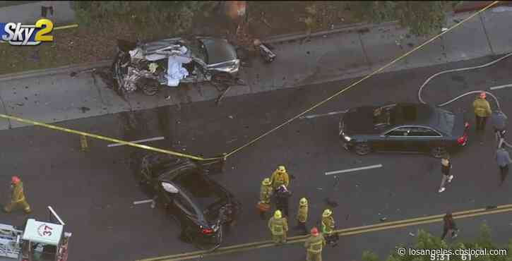 1 Dead, At Least 2 Others Injured In West LA Crash