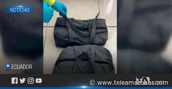 Hallan maletas con droga en aeronave que cubría ruta Latacunga-México - Teleamazonas