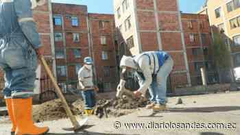 GAD Latacunga realiza trabajos de mejoramiento en Las Fuentes - Diario Los Andes