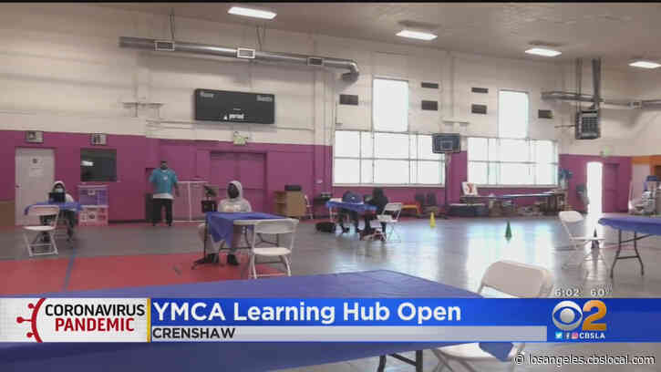Crenshaw Family YMCA Opens Learning Hub Providing Wi-Fi, Laptops And Tutoring