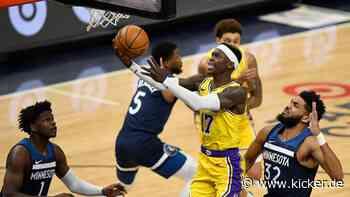 Schröder und LeBron glänzen: Lakers siegen auch ohne Davis - kicker