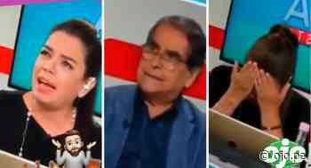 Milagros Leiva pierde los papeles frente al ministro Ugarte al indignarse por Mazetti   VIDEO - Diario Ojo
