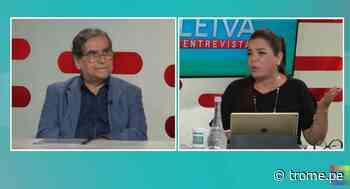 """Milagros Leiva se entera que Pilar Mazzetti se vacunó cuando estaba entrevistando al ministro Óscar Ugarte: """"¡Qué c.....! Es una caradura"""" - Diario Trome"""