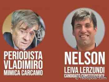 """NELSON LEIVA LERZUNDI, CANDIDATO CONSTITUYENTE, ESTE MARTES 16 DE FEBRERO EN EL PROGRAMA """"CANDIDAT@, ¿ QUIEN ES USTED?"""" - radiopolar.com"""