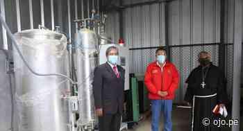 Segunda planta de oxígeno del hospital de Huamachuco en La Libertad entró en funcionamiento - Diario Ojo