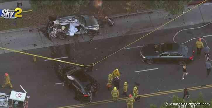 Woman Dead, Teen Injured In West LA Crash