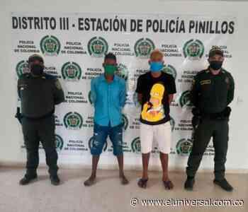 Presuntos responsables de homicidio en Pinillos fueron capturados - El Universal - Colombia