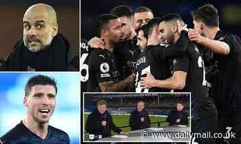 Manchester City could win the quadruple with Virgil Van Dijk-like Ruben Dias, says Michael Owen