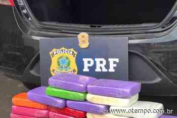 PRF apreende em Juatuba pasta base de cocaína avaliada em mais de R$ 5 milhões - O Tempo