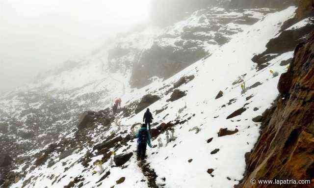 Atípica nevada cubre de blanco el Parque Nacional Natural El Cocuy - La Patria.com