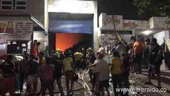 Incendio en Chatarrería Cómbita dejó daños materiales: alcalde de Riohacha - EL HERALDO