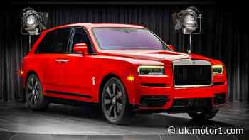 Rolls-Royce Cullinan shines in new bespoke colour options