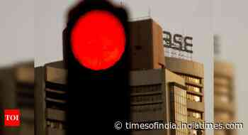 Sensex falls 379 pts as financial, auto stocks drag