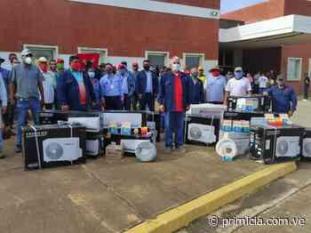 Diputado José Ramón Rivero entregó equipamiento a centros de salud de San Félix - primicia.com.ve