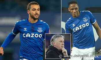 Liverpool vs Everton: Dominic Calvert-Lewin should be fit for derby, says Carlo Ancelotti