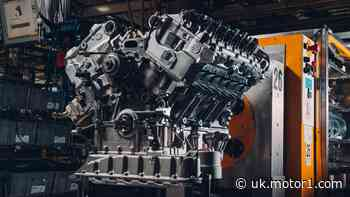 Behold the 650-bhp W12 engine of the first Bentley Bacalar