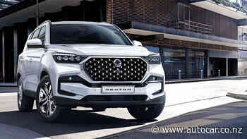Updated, more powerful new SsangYong Rexton revealed - NZ Autocar