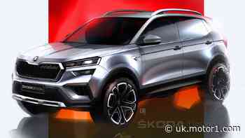 2021 Skoda Kushaq sketched out ahead of 18 March reveal
