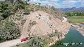 Refuerzan y modifican punto erosionado por el río Ameca - Matutino grafico - Matutino Grafico