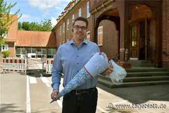 Marcel Twedorf ist neuer Schulleiter - und Krisenmanager - Jork - Tageblatt-online