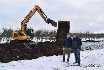 Obstbauern bauen Beregnungsteich - Jork - Tageblatt-online