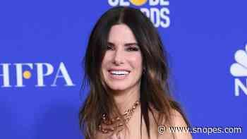 Did Sandra Bullock's Son 'Finally Confirm the Rumors'? - Snopes.com