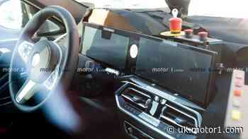 Updated BMW X6 spied with new interior, lots of screens
