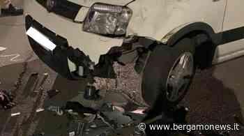 Scontro auto-moto a Villongo: un uomo in ospedale - BergamoNews - BergamoNews