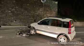 Villongo, scontro auto-moto: un uomo in ospedale con l'elisoccorso - BergamoNews.it