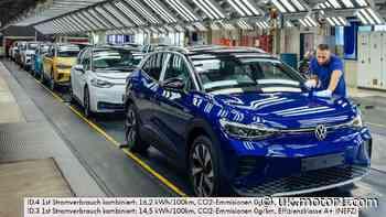 Volkswagen ID.5 pilot production begins in Germany