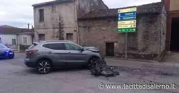 Sala Consilina, incidente con due feriti - Cronaca - la Città di Salerno