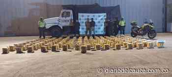 Autoridades incautan tremendo cargamento de marihuana en Piendamó: más de 900 kilos - Diario del Cauca