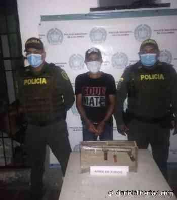 Capturan a dos sujetos en Baranoa y Sabanagrande por porte ilegal de armas de fuego - Diario La Libertad