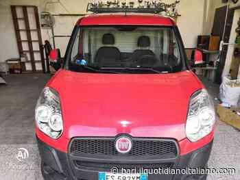 """Rutigliano, Fiat Doblò rubato in via Lapira. L'appello di Marcello: """"È il nostro mezzo da lavoro"""" - Il Quotidiano Italiano - Bari"""