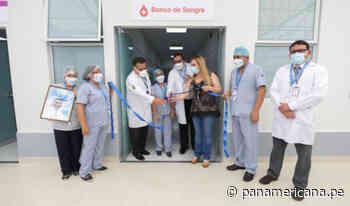 Huacho: inauguran moderno laboratorio y banco de sangre para atender la covid-19   Panamericana TV - Panamericana Televisión