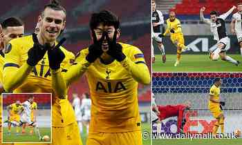 Wolfsberger AC 1-4 Tottenham: Spurs sweep aside Austrian outfit with comfortable win in first leg