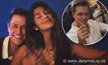 Pia Miller enjoys a romantic date night with her millionaire fiancé Patrick Whitesell