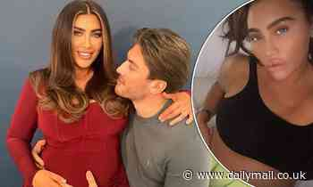 Pregnant Lauren Goodger's beau Charles Drury, 23, hints he may propose after being impressed by meal