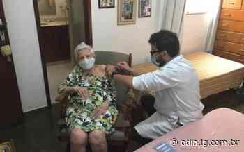 Em Natividade, começou a vacinação em idosos com mais de 90 anos | Itaperuna | O Dia - O Dia