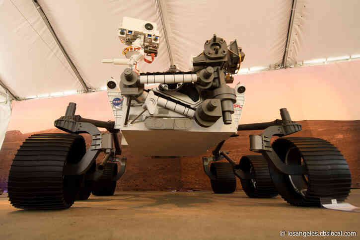 NASA Rover Perseverance Lands Safely On Mars Thursday