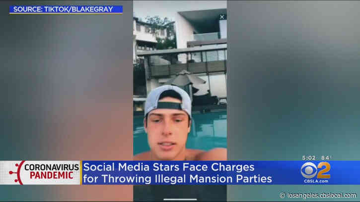 TikTok Stars Bryce Hall And Blake Gray Plead Not Guilty To Charges For Throwing Hollywood Hills House Parties