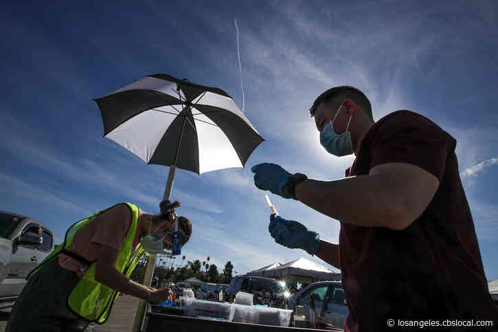 LA To Postpone COVID Vaccinations At City Sites Due To Winter Storms