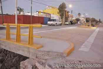 Rehabilitan arroyo y abren paso pluvial en Arboledas de Paso Blanco en Jesús María - Yahoo Noticias